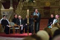A húsvéti gyertya lángja – Az ökumenikus imahét záróalkalmát tartották a pécsi székesegyházban