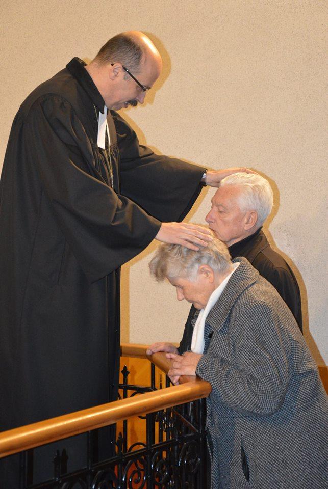 A kispestiek vendége volt Kondor Péter püspök
