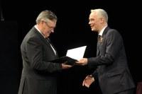 Kutyej Pál Albert nyugalmazott evangélikus lelkésznek állami kitüntetést adott át Balog Zoltán