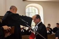 Beiktatták Kasza Gábor evangélikus lelkészt
