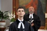 Beiktatták parókus lelkészi szolgálatába Hajduch-Szmola Patrikot Pécsett