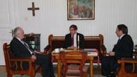 Bemutatkozó látogatáson járt püspökeinknél az új német nagykövet