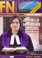 Bolba Márta józsefvárosi lelkész az FN címlapján