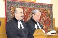 Egyházkerületi elnökségtől és esperestől is búcsúztak a békésiek lelkészi munkaközösségi ülésükön