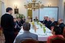 Egyházmegyei elnökségek munkavacsorája