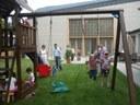 Elfoglalták a gyerekek a pestszentimrei evangélikus gyülekezet játszóterét