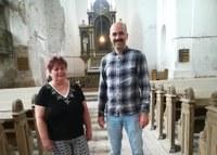 Ellátogatott Pitvarosra az új püspök