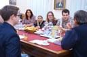 Elsőéves teológusok látogatása a Déli Püspöki Hivatalban