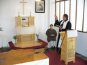Kisoltárt szenteltek Dunaföldváron a Jó Pásztor vasárnapján