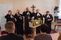 Reménység és élni akarás – Hálaadó ünnep a felújított parókiáért Pitvaroson