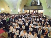 Tanévnyitó istentisztelet volt a megújult Sztehlo Gábor Evangélikus Óvoda, Általános Iskola és Gimnáziumban is
