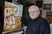 Tucatnyi festményt hagyott a csabai evangélikus egyházra