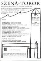 A Szená-Torok kórus koncertje a Deák téri templomban